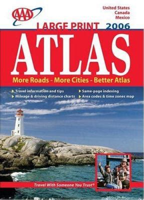 atlas canada united states mexico books aaa atlas united states canada mexico by aaa publishing