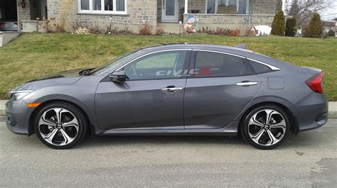 honda civic 2016 si 2016 civics fitted with 9th si wheels 2016 honda