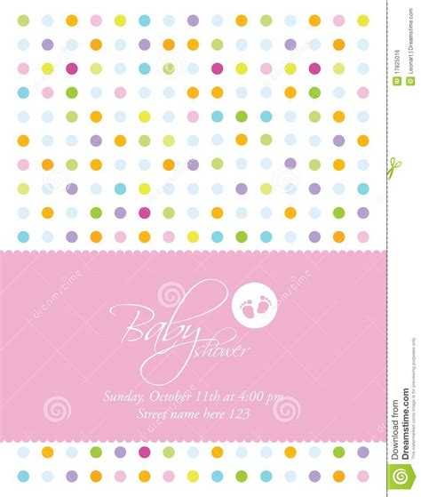baby shower card templates baby shower card template stock vector image of drawing