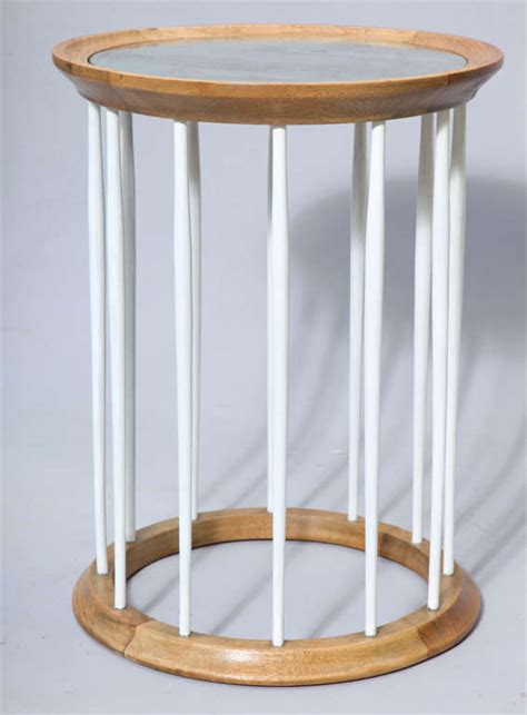 round mirrored accent table round accent table with mirrored top on spindle frame base