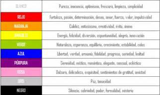 el color proyecto arte on quot significado de los colores