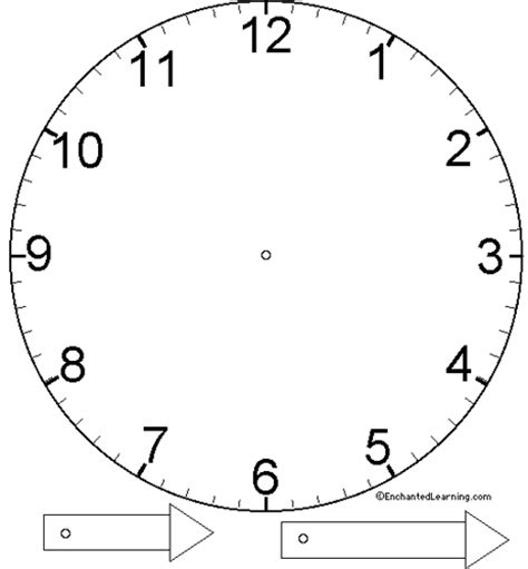 clockface template basic clock template flickr photo