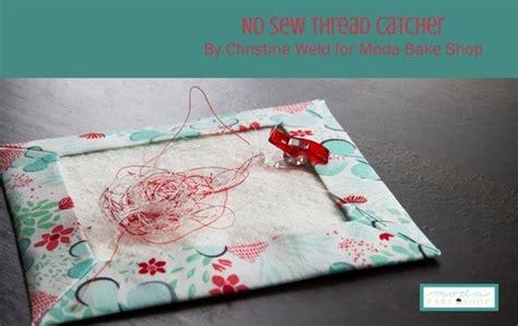 tutorial  sew thread catcher mat sewing