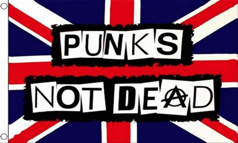 Is Not Dead punks not dead 3 x 2 flag