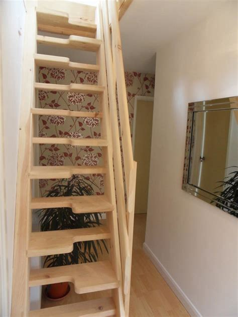Loft Conversion Stairs Design Ideas Loft Conversion Lounge Contemporary Staircase Other By Attic Designs Ltd