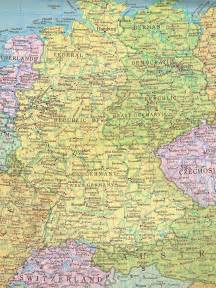 West Germany Map by Former East Germany And West Germany Full Size