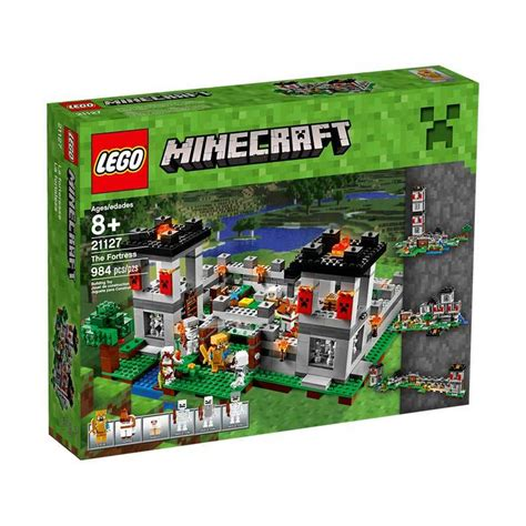 Mainan Lego Blok Lego Besar Isi 136 Pcs jual lego minecraft 21127 the fortress mainan blok dan puzzle harga kualitas terjamin