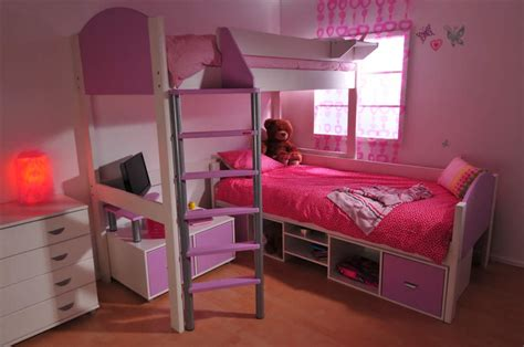 How To Make A High Bed stompa casa high sleeper bed build your own