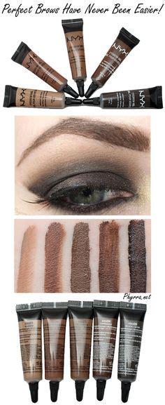 Makeup Forever Eyebrow Gel beautybuzzhub drugstore brow routine nyx micro brow