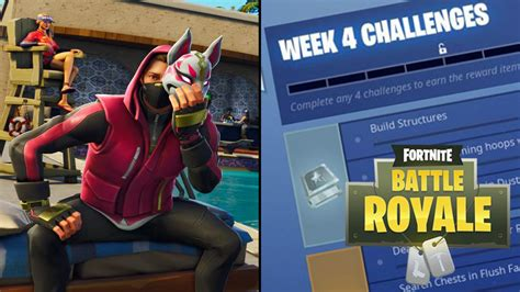 fortnite challenges for season 5 the official fortnite challenges for week 4 of season 5
