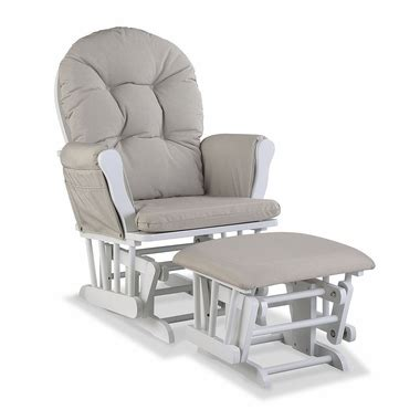 stork craft hoop glider and ottoman set espresso beige storkcraft hoop custom glider and ottoman in white and