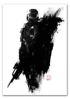 #Halo 4 Master Chief #Art | Halo game, Halo master chief