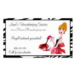 housekeeper business cards house cleaning business cards zazzle