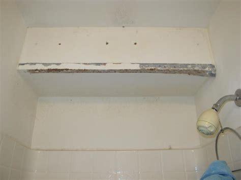 bathroom drywall code bathroom shower metal corner drywall bead rusted need