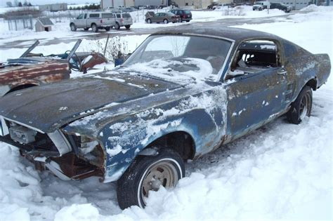 ford mustang fastback 1967 for sale 1967 ford mustang fastback project car for sale
