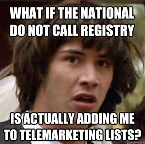 Telemarketer Meme - new email marketing tools offer cmos persuasion