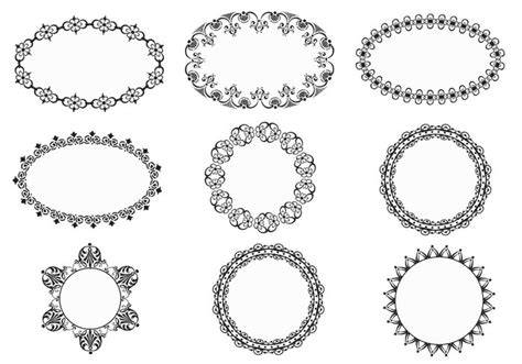 cornici photoshop gratis vintage ornate frames brushes free photoshop brushes at