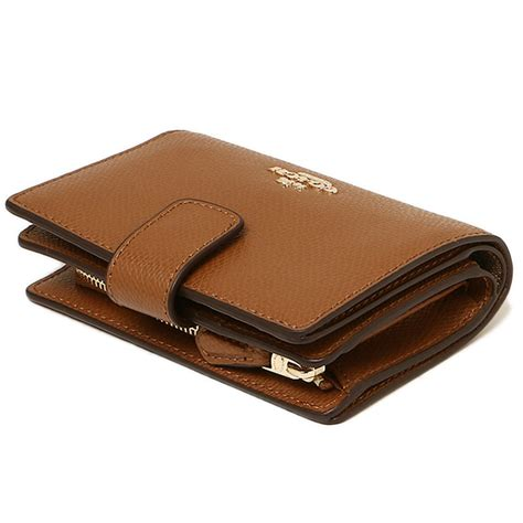 Coach Medium Wallet Ori spreesuki coach medium corner zip wallet in crossgrain leather gold saddle brown f54010