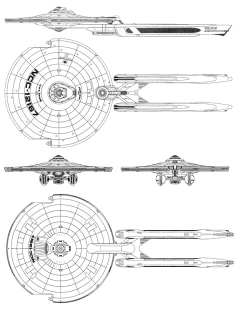Pense Class IX Long Range Destroyer – FASA Star Trek
