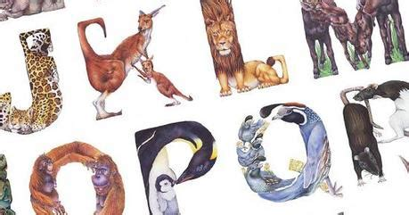 lettere con animali alfabeto di animali creato da casey girard paperblog