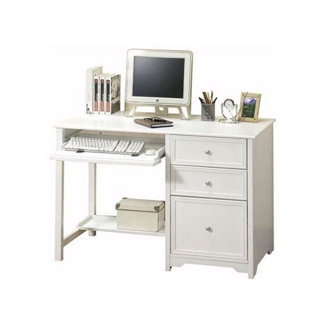 white computer desks for home home decorators collection oxford white desk 6769410410