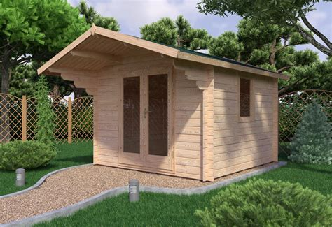 garden log cabin imperial 3x3m next day delivery log