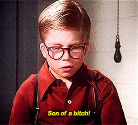 Son Of A Bitch Meme - a christmas story sob gif find share on giphy