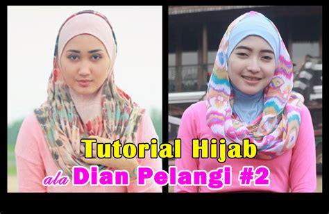gambar tutorial hijab ala dian pelangi tutorial hijab