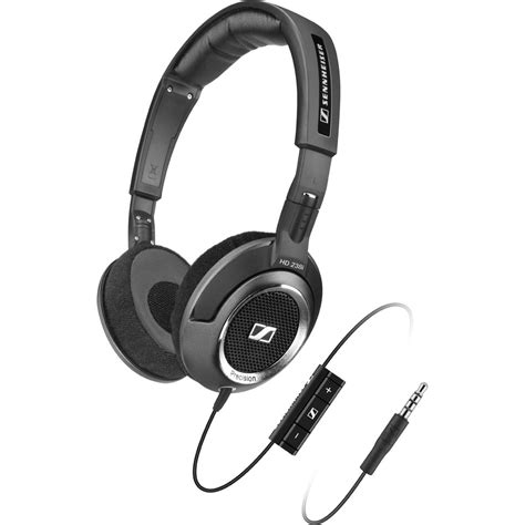 Headphone Sennheiser Hd 219 sennheiser hd 238i high resolution open headphone with iphone ipod remote black