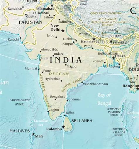 south asia map south asia river map mexico map