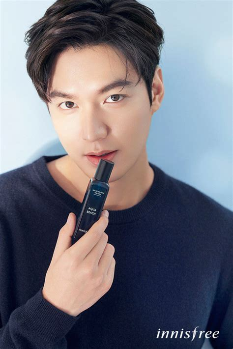 min ho looks refreshing for innisfree