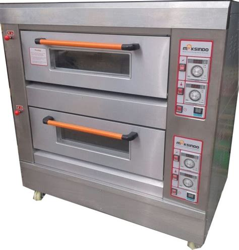 Oven Gas Maksindo mesin oven roti gas 2 rak 4 loyang go24 toko mesin
