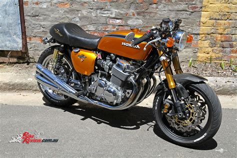 custom honda custom honda cb750 four bike review