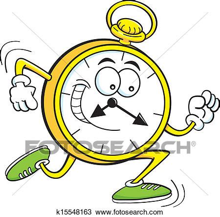 Wall Mural Posters clipart of cartoon pocket watch k15548163 search clip