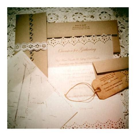 easy to make vintage wedding invitations vintage wedding invitations you can make yourself rustic