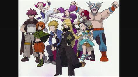 Volkner pokemon platinum music gym leader battle theme hd