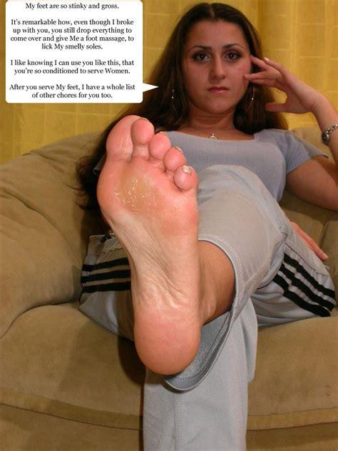 Femdom Sister Foot Slave Caption
