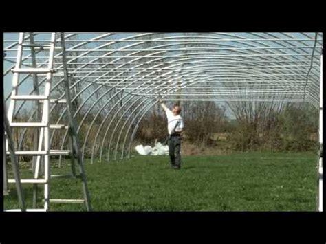 Poppen Im Garten by Aufbau Eines Folientunnel Gew 228 Chshauses Typ 850 Poppen Gmbh Best Of Utube