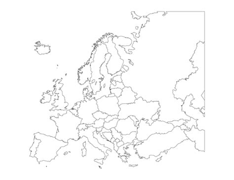 old world map coloring page map of european countries occ shoebox pinterest