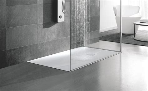 docce di piatti doccia a filo per un bagno trendy cose di casa