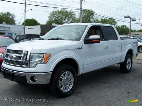 2010 ford f150 for sale 2010 ford f150 lariat supercrew 4x4 in oxford white