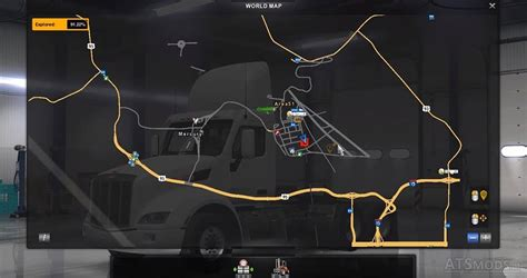 At Home Interiors by Map Area 51 American Truck Simulator Mods