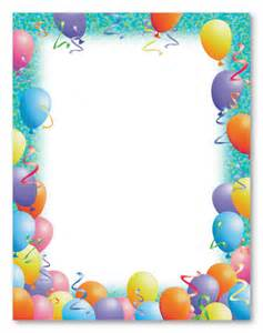 birthday stationery templates free free printable birthday stationery search results