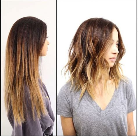 how to ask hairdresser for textured lob chop talk hip hairstyles we re trying this spring page