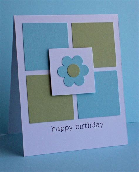 Simple Handmade Cards For Birthday - 222 best cards inches squares images on