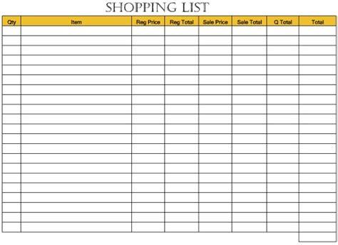 coupon shopping list template addicted 2 savings 4 u savings forms