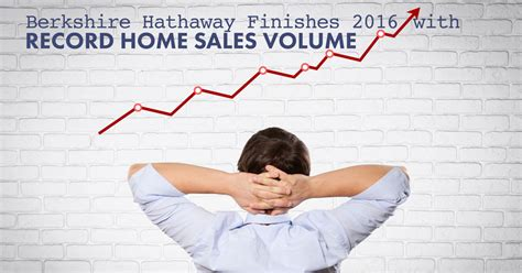 berkshire hathaway finishes 2016 with record home sales