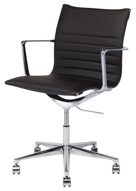 Naugahyde Chair by Antonio Black Naugahyde Office Chair Hgjl322 Nuevo