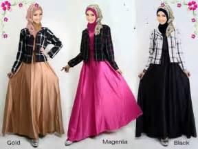 busana muslim terbaru  wanita baju kurung moden