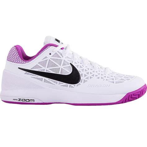 Nike 2016 S Zoom Cage 2 Tennis Shoes Black White 705247 010 nike zoom cage 2 s tennis shoe white violet